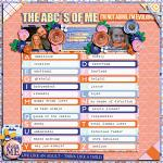The ABC´s Of Me :: Template :: Layout by Jenn