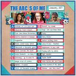 The ABC´s Of Me :: Template :: Layout by Trina
