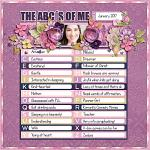 The ABC´s Of Me :: Template :: Layout by Mary