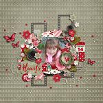 Layout by Kjersti using Hearts Day by lliella designs
