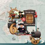 Walk The Plank :: Layout :: Melissa