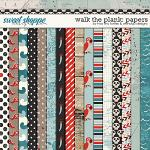 Walk The Plank :: Patterned Papers