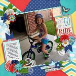 Layout by Jill using Beautiful Day by lliella designs