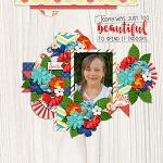Layout by Martina using Beautiful Day by lliella designs
