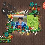 Let Him Be A Little Wild :: Template :: Layout by Two Tiny Turtles