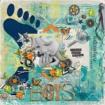 Let Him Be A Little Wild :: Template :: Layout by Julie
