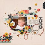 Let Him Be A Little Wild :: Template :: Layout by KimW