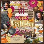 Layout by Rebecca using Sweater Weather by lliella designs