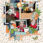 Layout by Allyanne using Morning Vibes