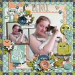 Crazy Cat Lady :: Layout by Sarah
