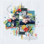 Collect Beautiful Memories :: Layout by Kim
