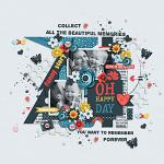 Collect Beautiful Memories :: Layout by Conny