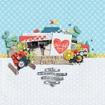 Collect Beautiful Memories :: Layout by Sarah