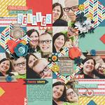 Collect Beautiful Memories :: Layout by Kim E.