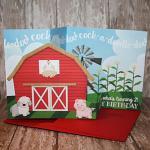 Card by Tanya using Farm Adventures by lliella designs