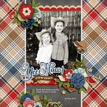 Layout by Jacinda using Rodeo Adventures by lliella designs