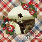 Layout by Hailey using Rodeo Adventures by lliella designs