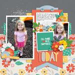Oh, Happy Day :: Layout by Carrie