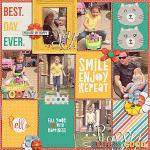 Oh, Happy Day :: Layout by Krista