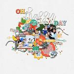 Oh, Happy Day :: Layout by Eveline