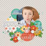 Oh, Happy Day :: Layout by Sarah