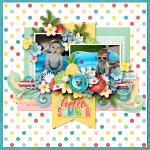 Layout by Kim using Cool Summer by lliella designs