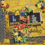 Digital Scrapbook Layout by Sheri