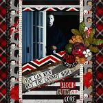 Layout by Hailey using Blood & Gore by lliella designs