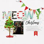 Layout by Carrie using Meowy Christmas by lliella designs