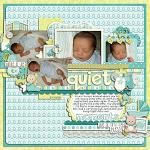 Layout by Lizzy, using Baby Boy by lliella designs