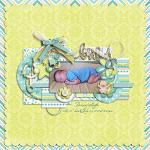 Layout by Sheri, using Baby Boy by lliella designs