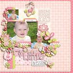 Layout by Kay, using Baby Girl by lliella designs