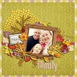 Digital scrapbooking layout by Laurie