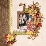 Digital scrapbooking layout by Lydia