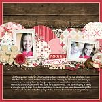 Layout by Jacinda, using Holly Jolly Christmas by lliella designs