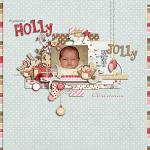 Layout by Lizzy, using Holly Jolly Christmas by lliella designs
