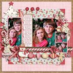 Layout by Kay, using Holly Jolly Christmas by lliella designs