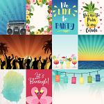 Beach Party: Cards by lliella designs
