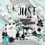Digital Scrapbook Page by Mary