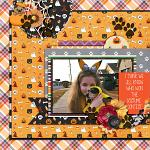 Layout by Hailey using Meowy Howl-o-ween by lliella designs