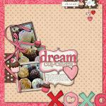 Digital scrapbooking layout by Anso using Cloud 9 kit by lliella designs