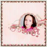 Digital scrapbooking layout by Sanka using Cloud 9 kit by lliella designs