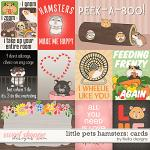 Little Pets Hamster Cards by lliella designs