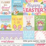 Little Pets Easter Cards by lliella designs