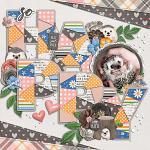 Layout by Jill using Little Pets Hedgie by lliella designs