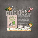 Layout by Jacinda using Little Pets Hedgie by lliella designs