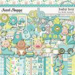 Baby Boy, digital scrapbooking kit by lliella designs