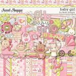 Baby Girl, digital scrapbooking kit by lliella designs
