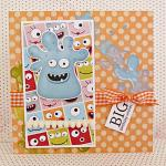 Hybrid card by Andrea using Monsterific kit by lliella designs