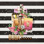 Layout by Cherry using Bobalicious by lliella designs